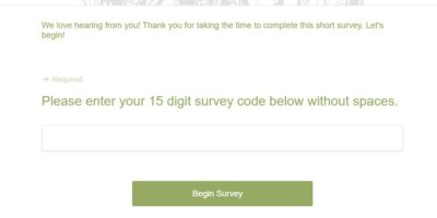 Take Survey at survey.deltaco.com
