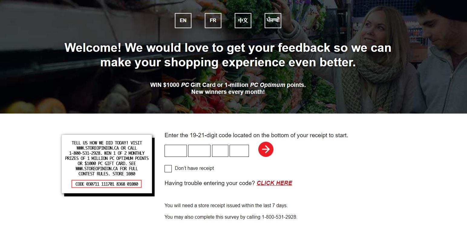 Storeopinion Survey